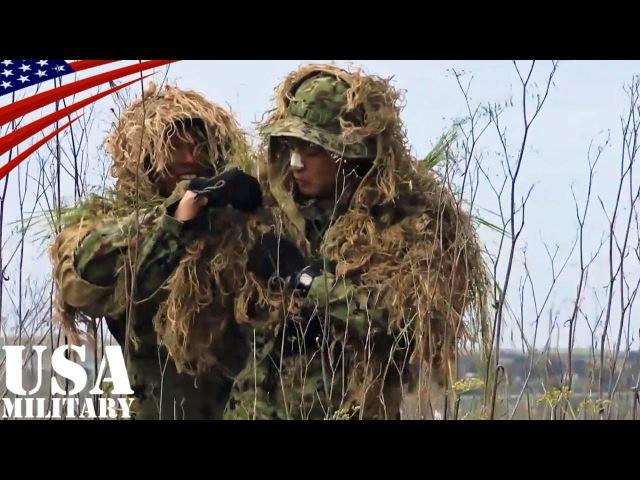 陸上自衛隊スカウトスナイパー(前哨狙撃兵)訓練・ギリースーツ