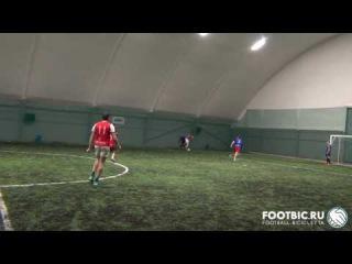 FOOTBIC.RU. Видеообзор 13.01.2017 (Метро Марьина Роща). Любительский футбол