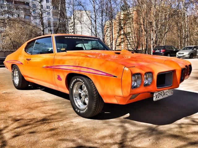 PONTIAC GTO 1970 the Judge тест драйв Алиса Селезнева и Вадим Воронов