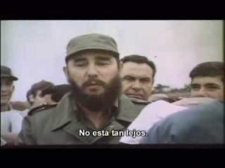 Comandante Fidel Castro y la juventud de Cuba