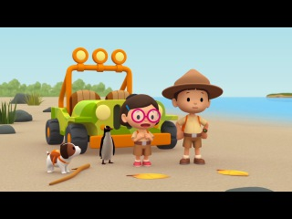 Cartoon | Yellow-eyed Penguin | Learning For Kids | Leo The Wildlife Ranger #136