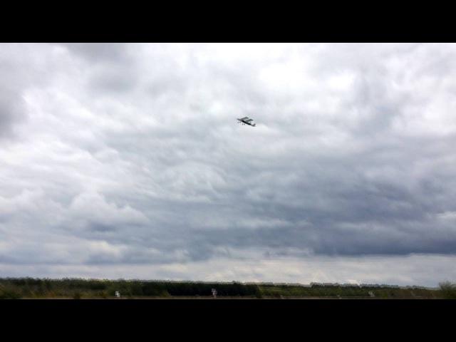 Взлёт и посадка Cessna 150 из потолочки