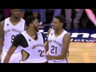 Anthony Davis Scores 41 Points and Grabs 16 Rebounds Against Lakers | 11.29.16 #NBANews #NBA