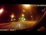 Пяный водитель , который убегал на авто от патрульных, совершил ДТП