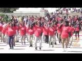 Amerika'da Türk Bayraklı Dans Gösterisi - Турецкий флаг Танцевальные шоу в Америке