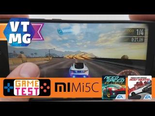 NFS No limits, NFS Most Wanted на Xiaomi Mi5c Тест