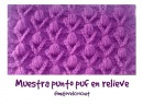 Muestra punto puff en relieve tutorial