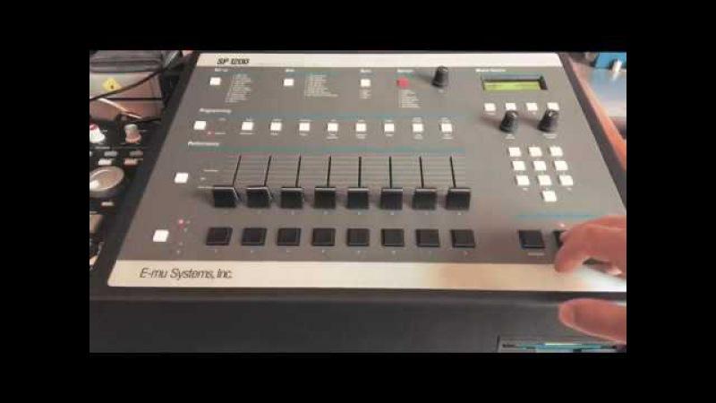 Khaderbai's BEAT BATCH 01: E-mu SP1200