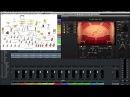 Расположение инструментов виртуального оркестра