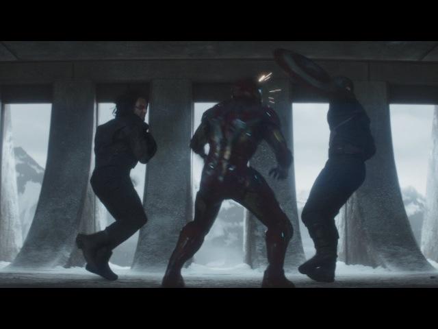Первый мститель:Противостояние Он убил мою маму (Финальный бой)