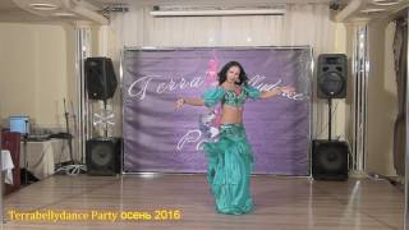 Terrabellydance Party осень 2016 Анастасия Пономарева