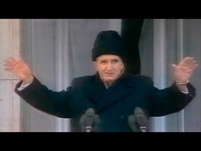 Свержение диктатора Румынии Казнь Николае Чаушеску