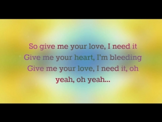 Sigala - Give Me Your Love ♫ When you get weak I'll make you strong again. When all is lost, I will comfort you