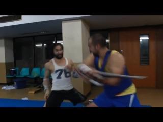 Tim Man - чудеса боевой акробатики