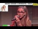 Эта девочка поёт лучшими голосами планеты.