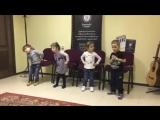 Детское музыкальное развитие и логоритмика (фрагмент занятия)