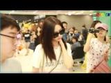 [LIVE영상] 소녀시대 (Girls Generation) 태연 윤아 효연, 여신 미모 뽐내며 공항 도착