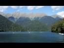 Абхазия Горное озеро Рица