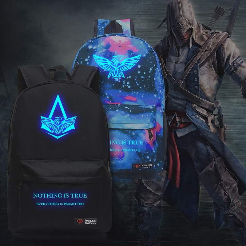 Рюкзак в стиле Assassins Creed