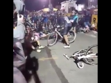 Авария на турнире в Бруклине