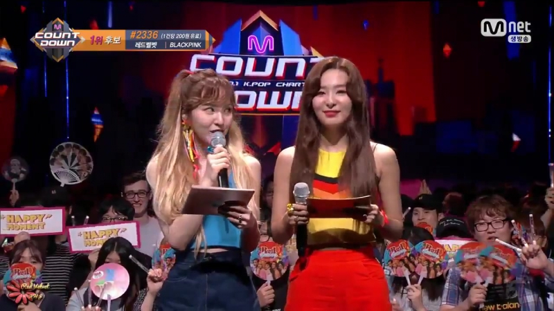 170720 Seulgi Wendy - Special MC pt.3 @ Mnet M!Countdown