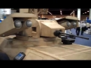 Lockheed Martin - Armed Robotic Vehicle штурмовой Light (MULE) В AUSVI 2010 [480p]