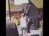 [fanvid] 030717 hongki @ Lets Eat Dinner Together shooting