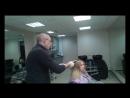Ч1 Мастер класс по обесцвечиванию полотна волос и окраской Бешеный апельсин Вартан Болотов