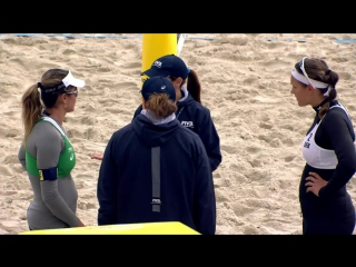 Мировой тур по пляжному волейболу в Москве — live