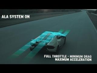 Huracán Performante׃ How the ALA (Lamborghini Active Aerodynamics) works