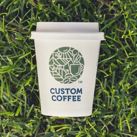 Логотип CUSTOM COFFEE (Закрытая группа)
