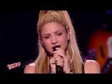 Shakira &amp Black M &amp Lucie - Comme moi@The Voice France,June 10, 2017