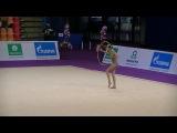 Karina Kuznetsova  hoop Grand Prix Moscow 2017