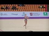 Karina Kuznetsova (Rus)  ball  Grand Prix Moscow 2017