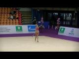 Karina Kuznetsova (RUS)  clubs  Grand Prix Moscow 2017