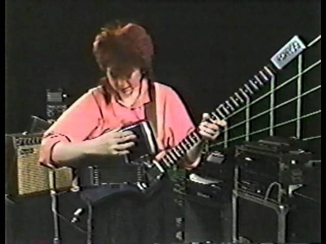 Allan Holdsworth on Rockschool 1987