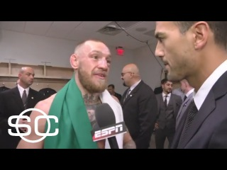 Conor McGregor's post-fight interview after losing to Floyd Mayweather | SportsCenter | ESPN