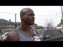 Reporter doesn't realize he's interviewing Vikings' Adrian Peterson about road rage (HD)