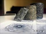 Мастер-класс: Филигранный орнамент из полимерной глины