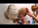 79: Cardboard Head Form - with free template (size S, M, L) | Costume Prop | How To | Dali DIY