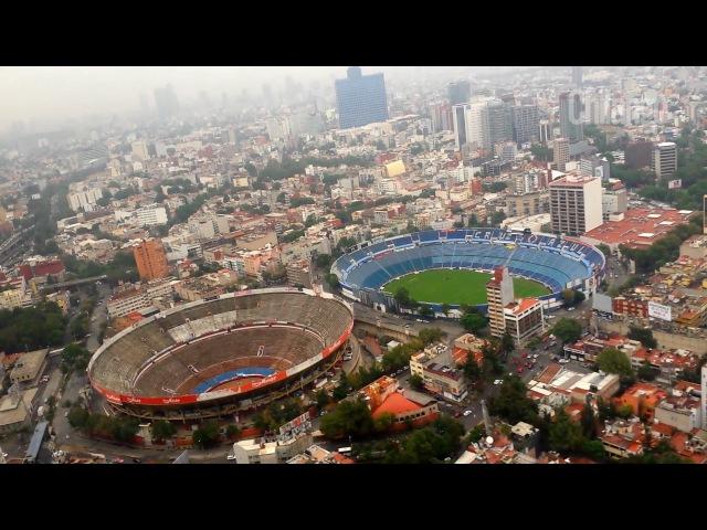 Recorrido en helicóptero por la Ciudad de México | Así se puso