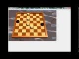 Русские шашки эндшпиль четыре дамки против двух