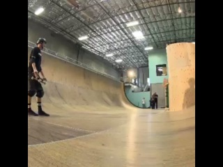 @ Regrann from @ sonyactioncamofficial - It's here! @ TonyHawk skates the horizontal loop! SonySpiral ActionCam SonyActionCa
