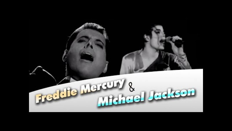 Michael Jackson Freddie Mercury - There Must Be More to Life Than This (Video Clip)