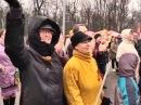 Флешмоб в Александровском саду ЦД Практикум