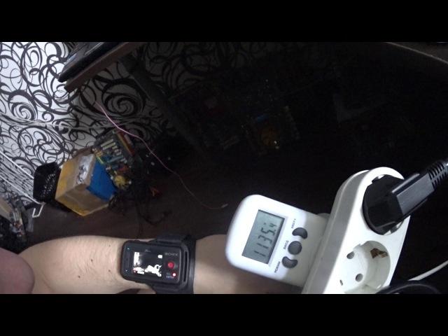 Валимбоком на прошитых XFX R9 280 Zcash 330 h/s Musicoin UBiq 31.6 mh/s