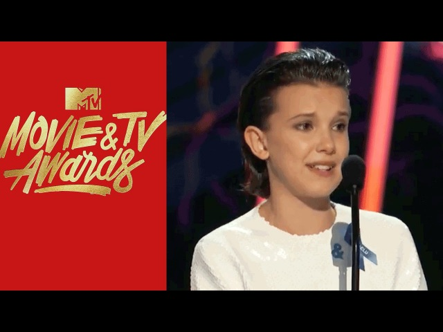 Millie Bobby Brown Wins Best Actor in a Show | MTV Movie TV Awards