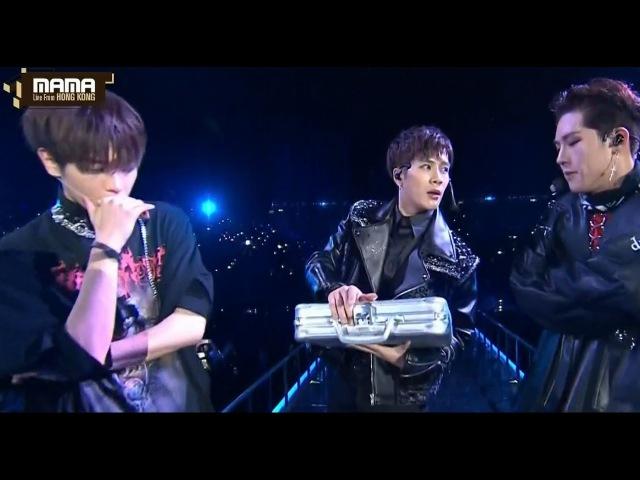 [MAMA] Monsta X Jooheon* NCT Taeyong* GOT7 Jackson: Full Collab. Stage Who's the Winner? MAMA 2016