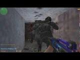 Играем на офигенном зомби сервере в кс 1.6 Эпидемия зомби
