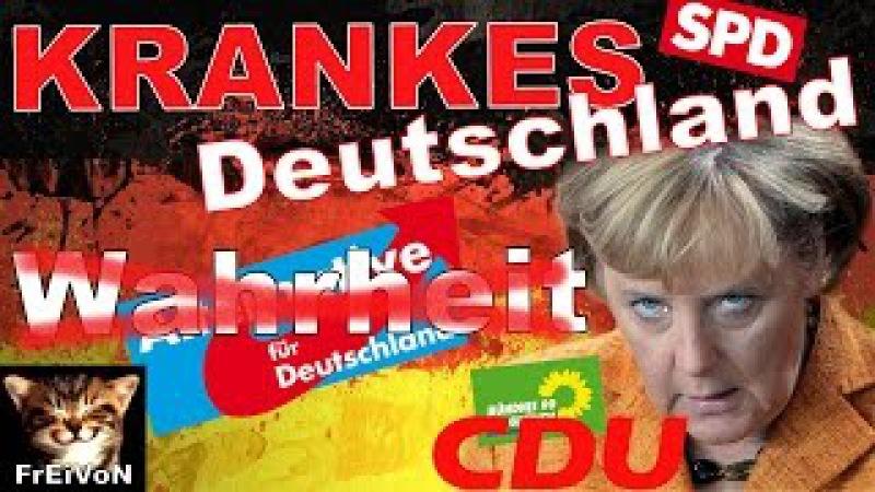 WAHRHEIT wird BESTRAFT! KRANKES DEUTSCHLAND! AfD * Veit, Flocken, Hamburg * Merkel, Strunz * Erdogan